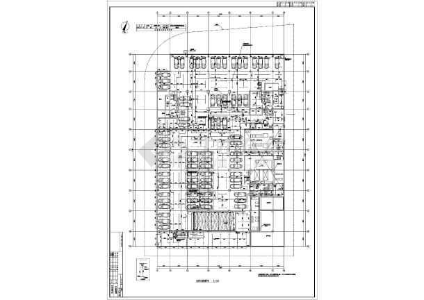 某地上二十一层给排水消防施工图(一类高层)-图1