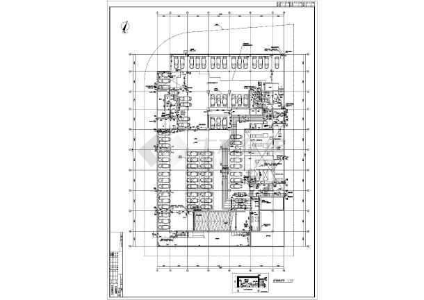 某地上二十一层给排水消防施工图(一类高层)-图2