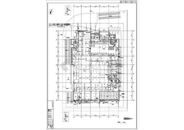 某地上二十一层给排水消防施工图(一类高层)-图3