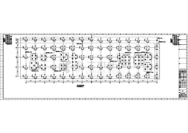 [浙江]地上八层与九层框架剪力墙结构办公大厦结构施工图(2015年06月出图)-图一