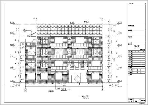 点击查看[江西]840平方米四层异形柱框架结构别墅结构施工图(含建筑图)第1张大图