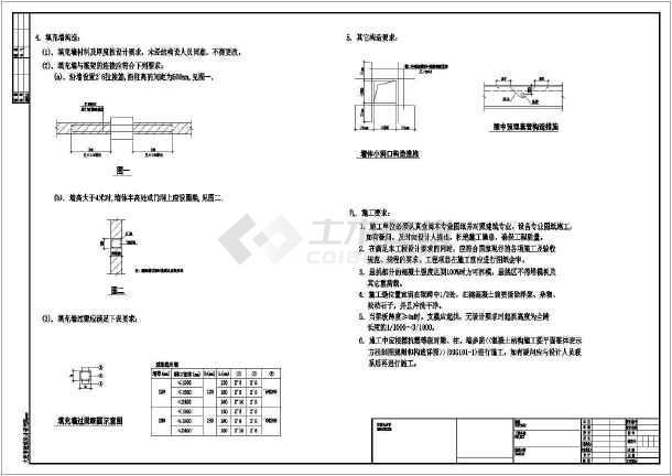 [大连]1011.22平方米三层框架剪力墙结构别墅结构施工图(含建筑图)-图2