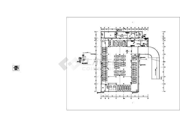 点击查看江西某五层法院给排水图纸第1张大图