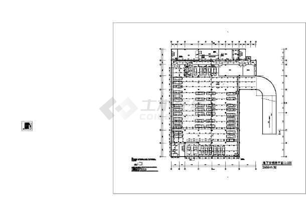 江西某五层法院给排水图纸-图1