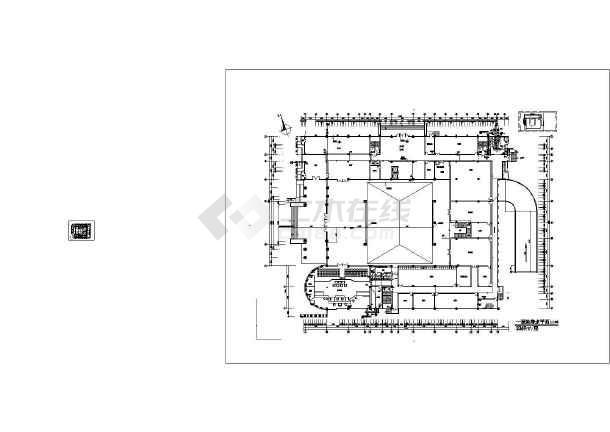 江西某五层法院给排水图纸-图2