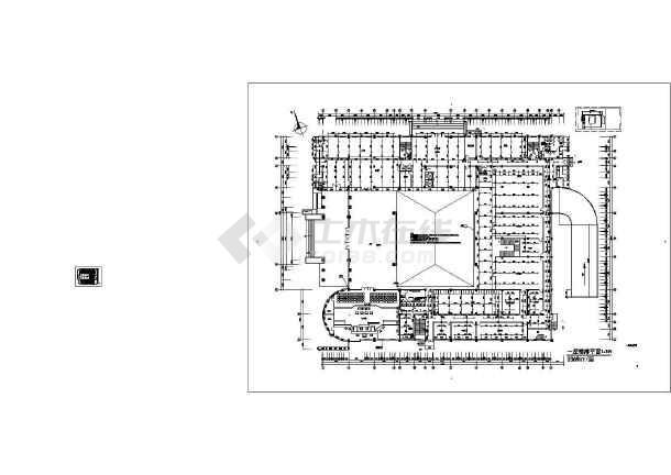 江西某五层法院给排水图纸-图3