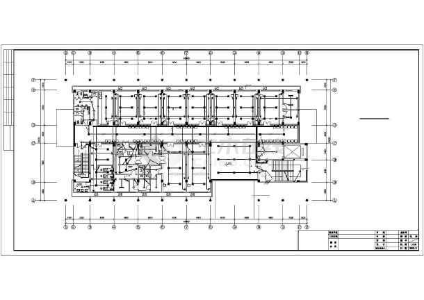 点击查看广东某三层县医院电气施工图第1张大图