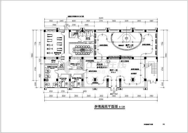 某厂房室内装修设计全套施工图(6层框架结构 含室内装饰、电气、给排水专业)-图3