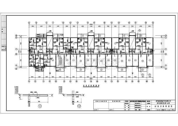 预制L形墙板住宅结构图(新型结构体系)-图二