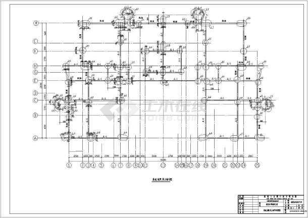 【重庆市】旭日凤凰城E型房建筑图(桩基础,共29张)-图一