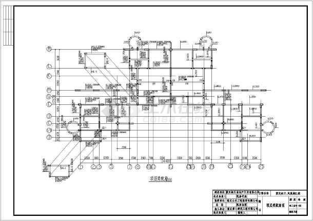 【重庆市】旭日凤凰城E型房建筑图(桩基础,共29张)-图3