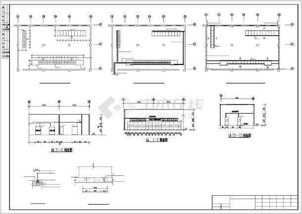 点击查看某医院骨科大楼电气系统图第1张大图