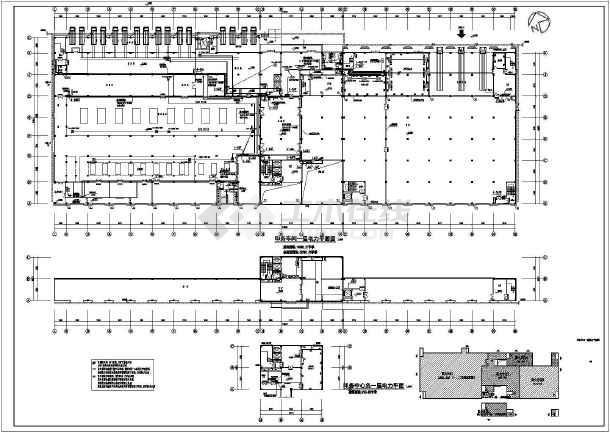 点击查看[湖南]193130.2㎡二十六层文化产业基地建设项目电气施工图纸200余张(2015年完成甲级设计院)第1张大图