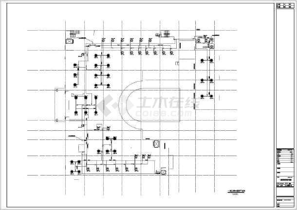 【常州】某11500㎡四层卫生院暖通施工图-图二
