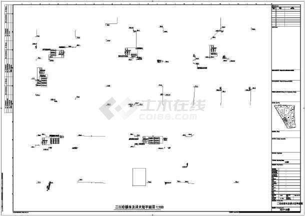 点击查看[上海]五万平米地块给排水消防完整施工图设计(大院设计)第2张大图