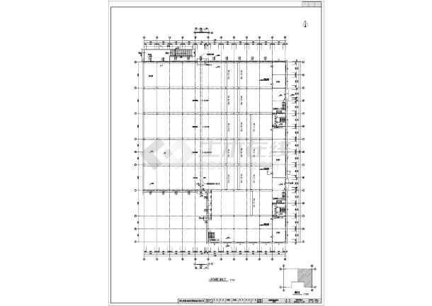 某典型钢结构厂房图纸(含建筑设计说明)-图二