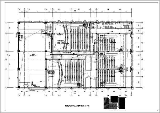 某电影院暖通设计图(含管线综合平面图、大样详图等)-图1