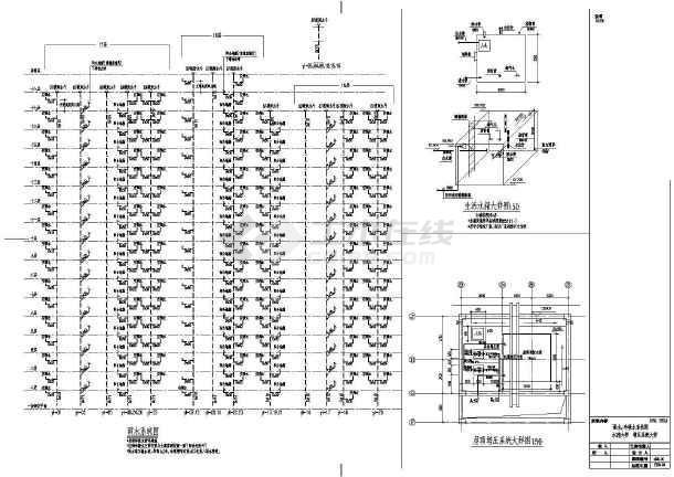 点击查看某十八层住宅楼建筑给排水设计图第1张大图