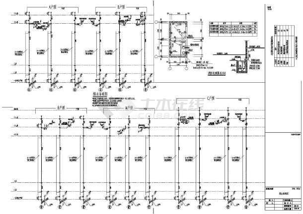 某十八层住宅楼建筑给排水设计图-图2