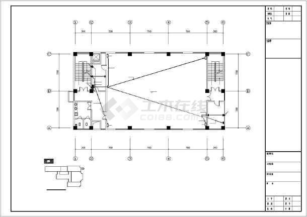 某2140.5㎡三层医院10KV高压系统电气施工图-图一