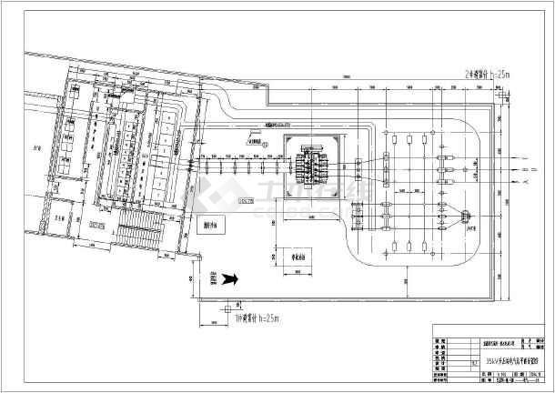 四川省某一级水电站工程电气初设图纸-图一