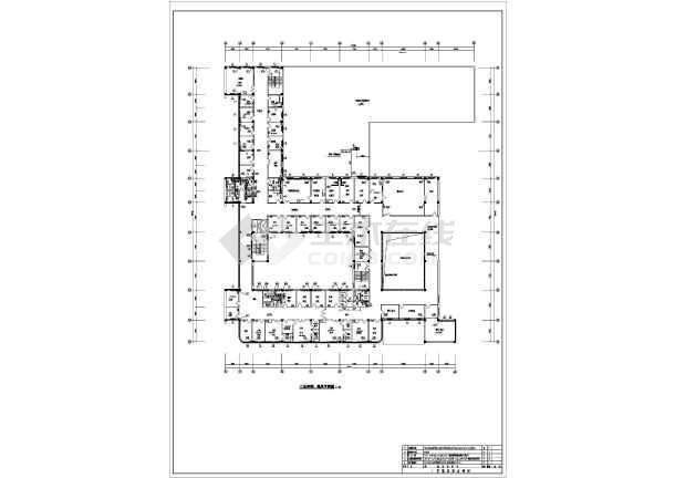 点击查看某7025㎡三层医院综合楼暖通图纸第1张大图
