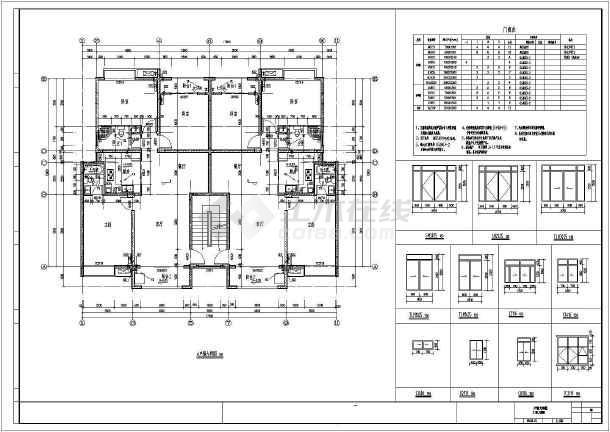 点击查看[江西]888平三层框架结构别墅结构施工图(含建筑图)第2张大图