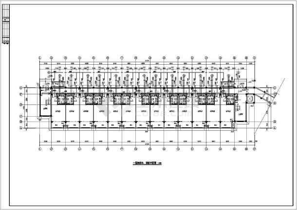 某三层敬老院全套给排水施工图-图2