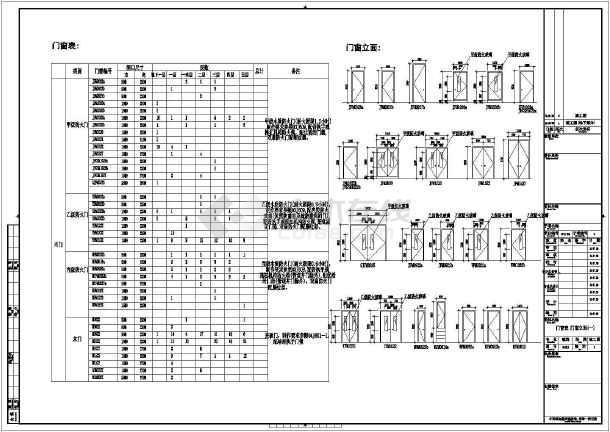 中原之门造型局部带钢桁架框剪结构旅游中心结构图(含建筑图、超长)-图一