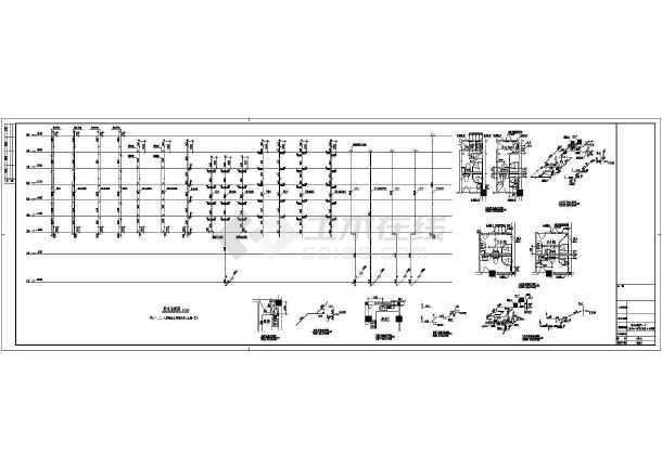 点击查看某地上八层商住楼给排水施工图(含设计说明)第2张大图
