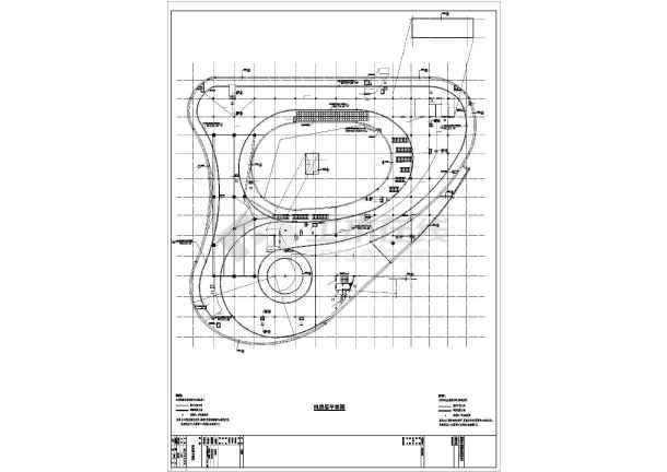 五层科技馆档案馆妇女儿童活动中心结构施工图(含建筑施工图)-图1