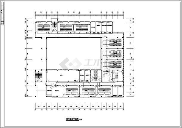 某医药药专科学院实验楼电气设计-图3