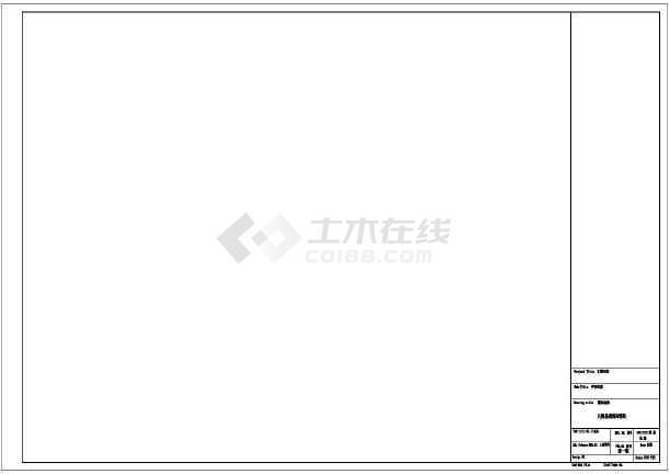 [江苏]某墓园风景园林工程景观施工图-图一