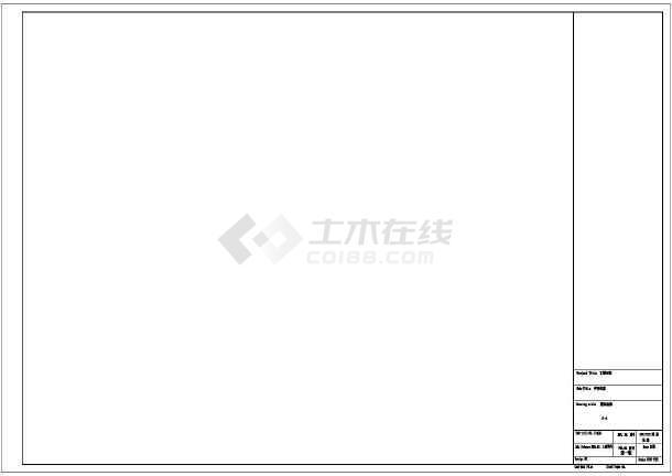 [江苏]某墓园风景园林工程景观施工图-图二