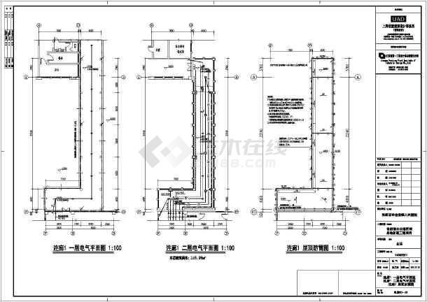 点击查看【江苏】市级十二层医院全套电气施工图(节能设计)第1张大图