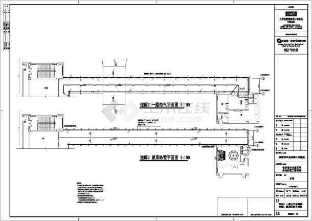 【江苏】市级十二层医院全套电气施工图(节能设计)-图1
