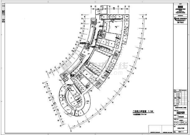 【江苏】市级十二层医院全套电气施工图(节能设计)-图2