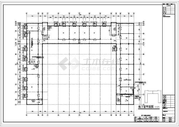 点击查看[张家港]三层框架结构体育公园用房结构施工图(含建筑图带阁楼)第1张大图
