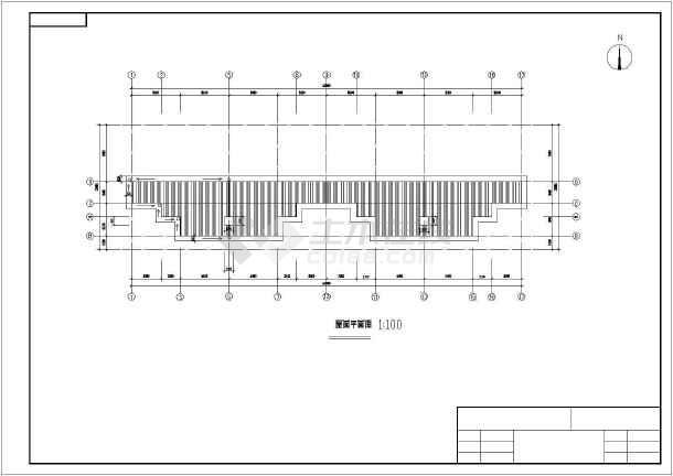 点击查看某三层别墅建筑、结构全套图纸(含手算计算书)第1张大图