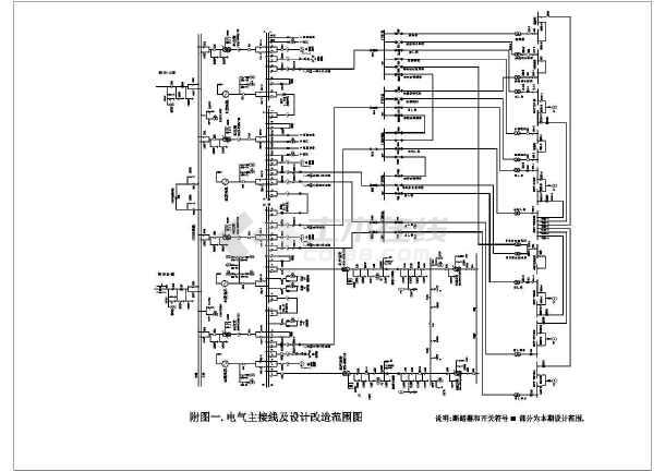 某电站微机保护装置电气设计图-图2