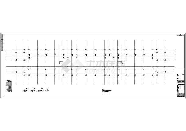 [重庆]九层公共服务中心党政办公用房及公共办公用房结构施工图(含详细计算书)-图一