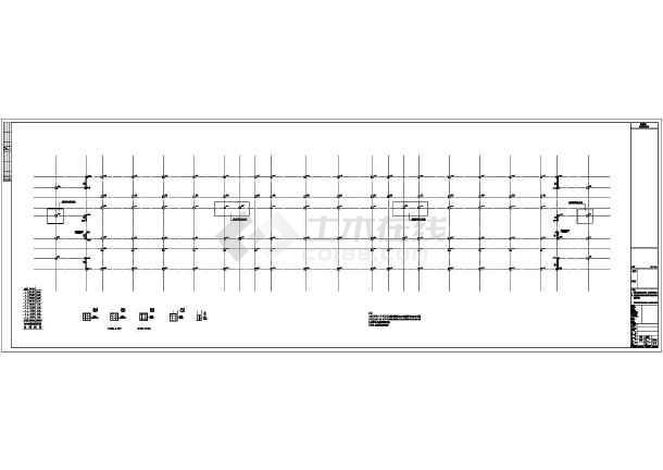 [重庆]九层公共服务中心党政办公用房及公共办公用房结构施工图(含详细计算书)-图1