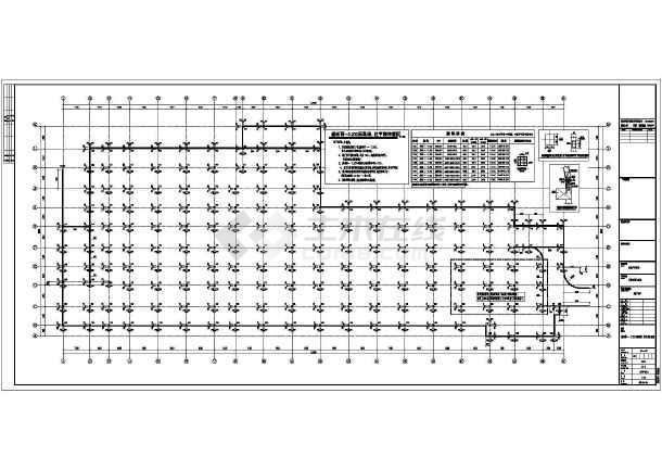 某6084㎡187个车位地下停车库结构施工图(含建筑图)-图二