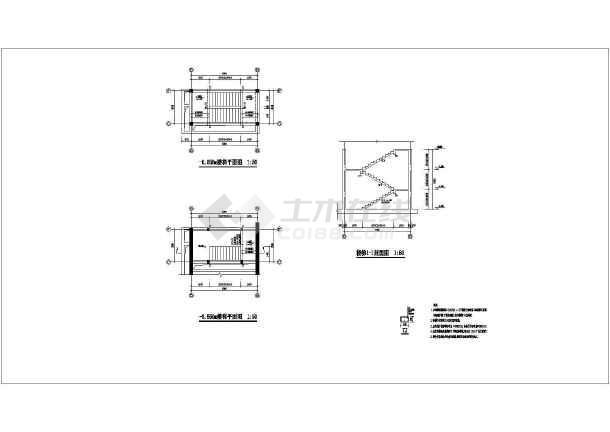 点击查看【天津】某住宅楼结构设计图(框架结构,共3张)第1张大图