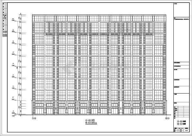 全套20926.6㎡八层办公楼给排水设计图-图1