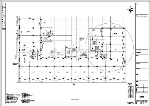 全套20926.6㎡八层办公楼给排水设计图-图2