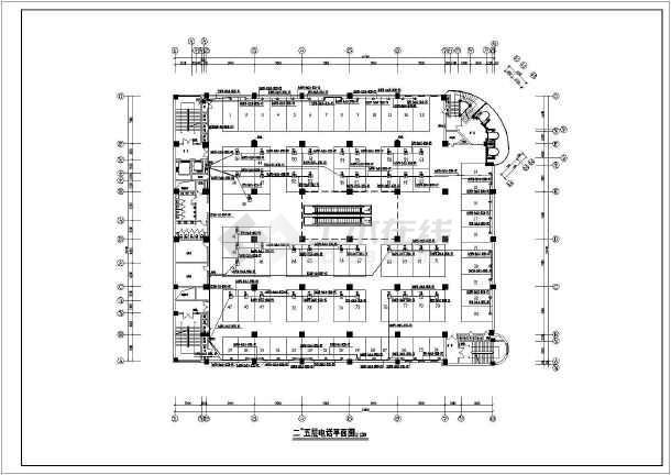 某44261.4㎡高层商场电气施工图-图1