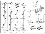 [重庆]二层框架结构商业楼群结构施工图图片3