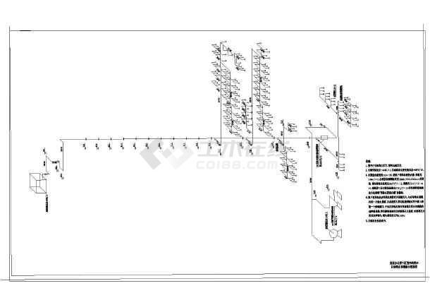 某高层办公楼室内给排水图纸-图3