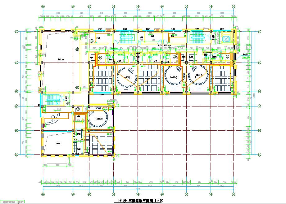 徐州某学校采暖设计详图及采暖系统图(四层,建筑面积3093平方米)图片3